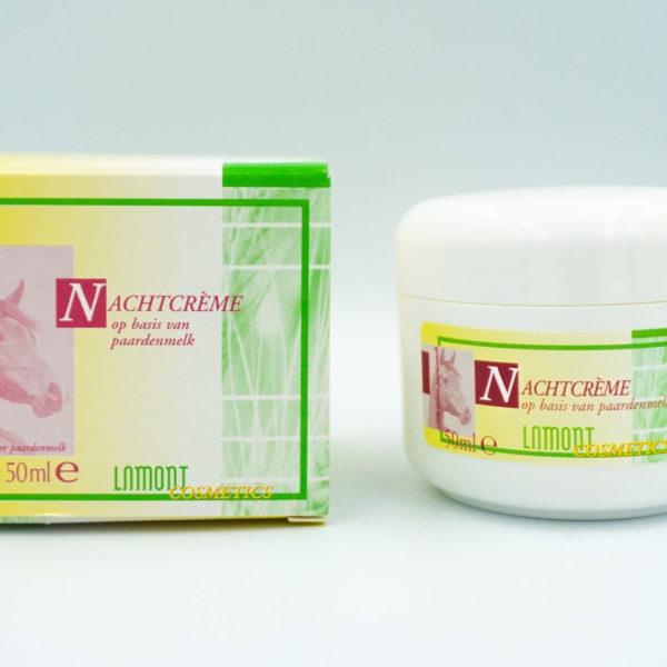 Nachtcrème met natuurlijke paardenmelk