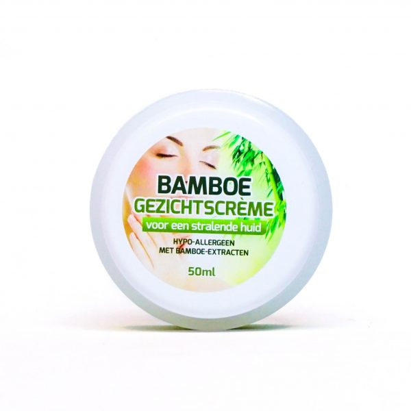 Bamboe gezichtscrème
