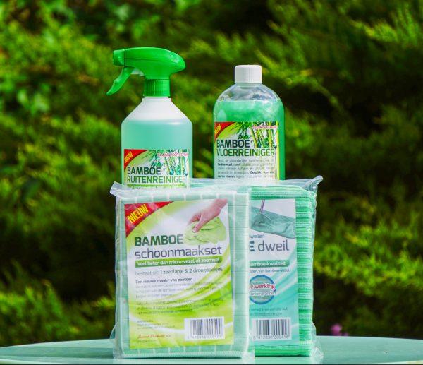 bamboe onderhoud voordeelpakket