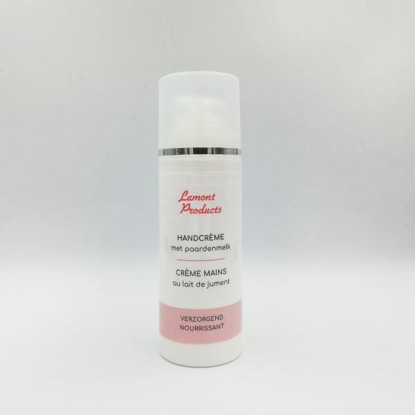 Verzorgende handcrème met paardenmelk