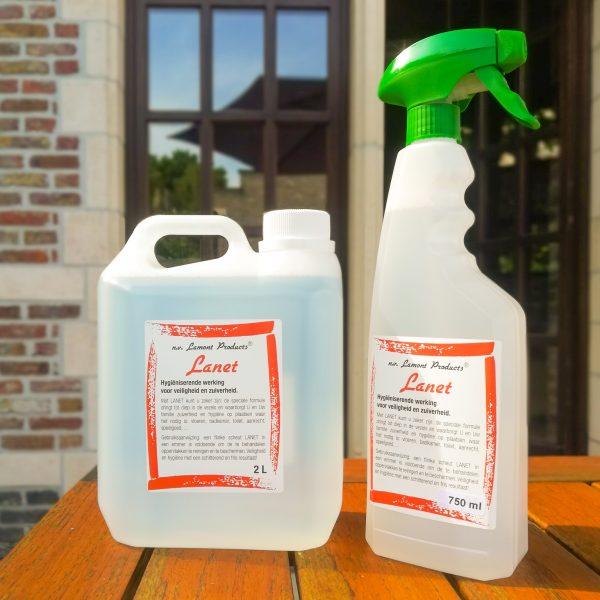 Lanet voordeelpakket | Hygiënische reiniger